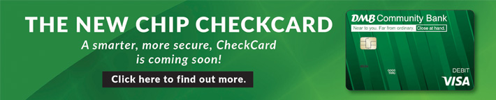 The New Chip Checkcard - Click Here for more information